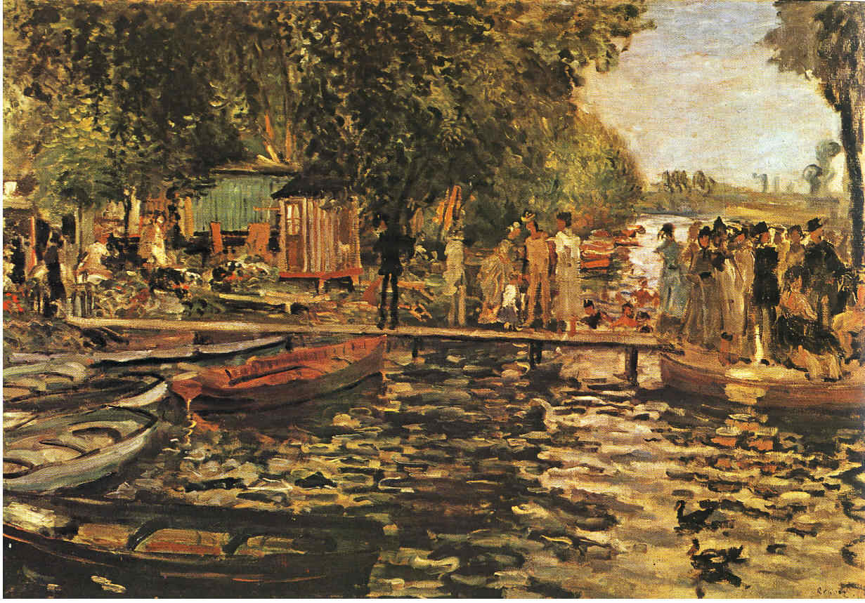 La Pintura 57 La cuadrilla de Manet