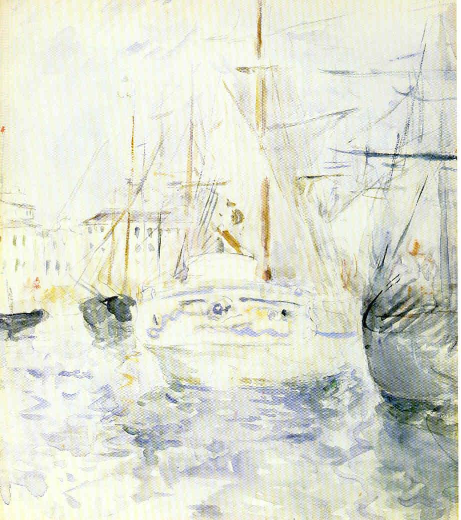 Berta Morisot Serie vida de Claude Monet 22 Pintura 187