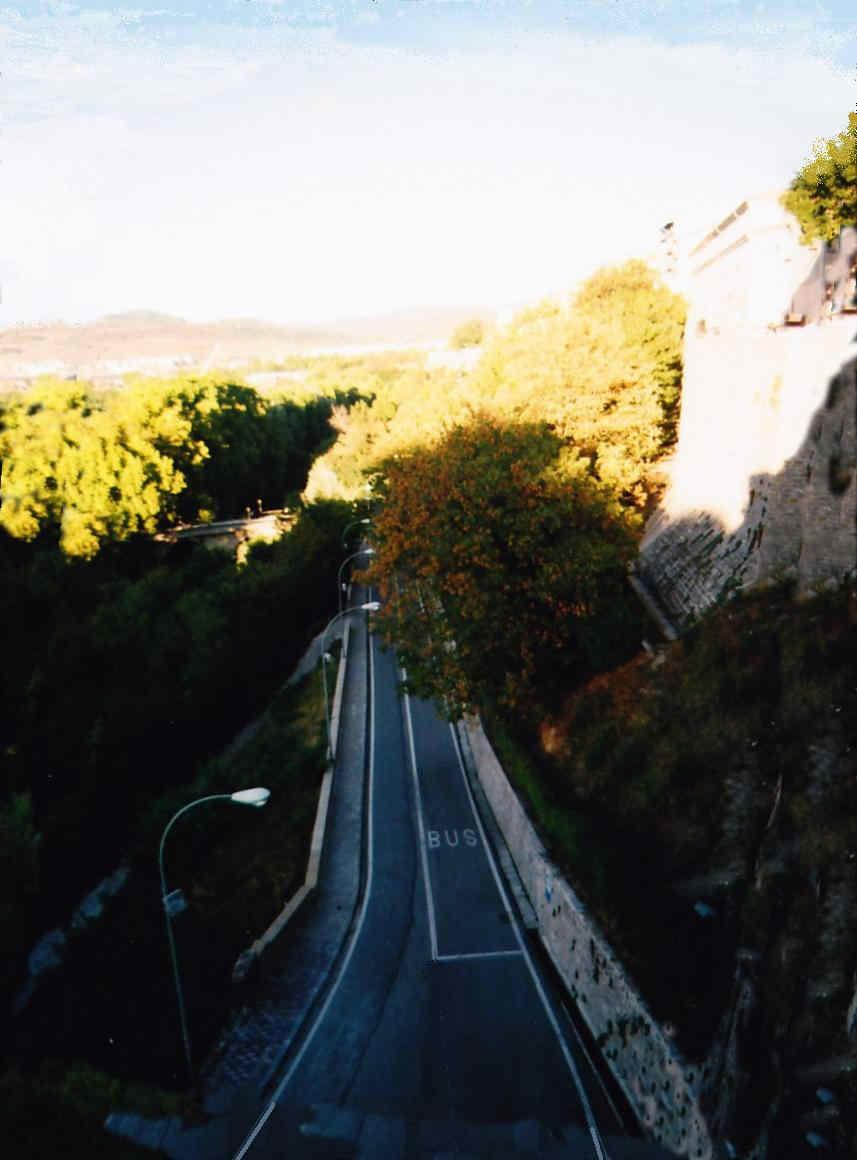 Paseo por las murallas de Pamplona El Frente Norte