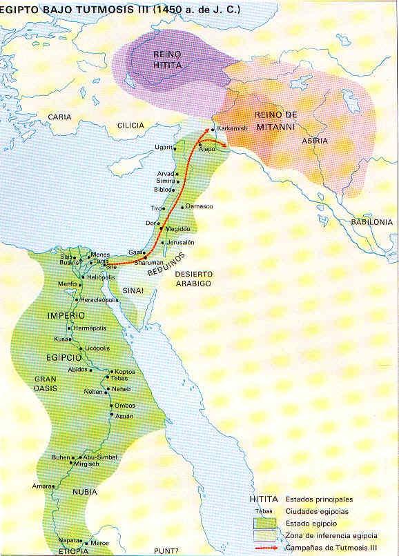 La vida en el antiguo Egipto Invasiones b