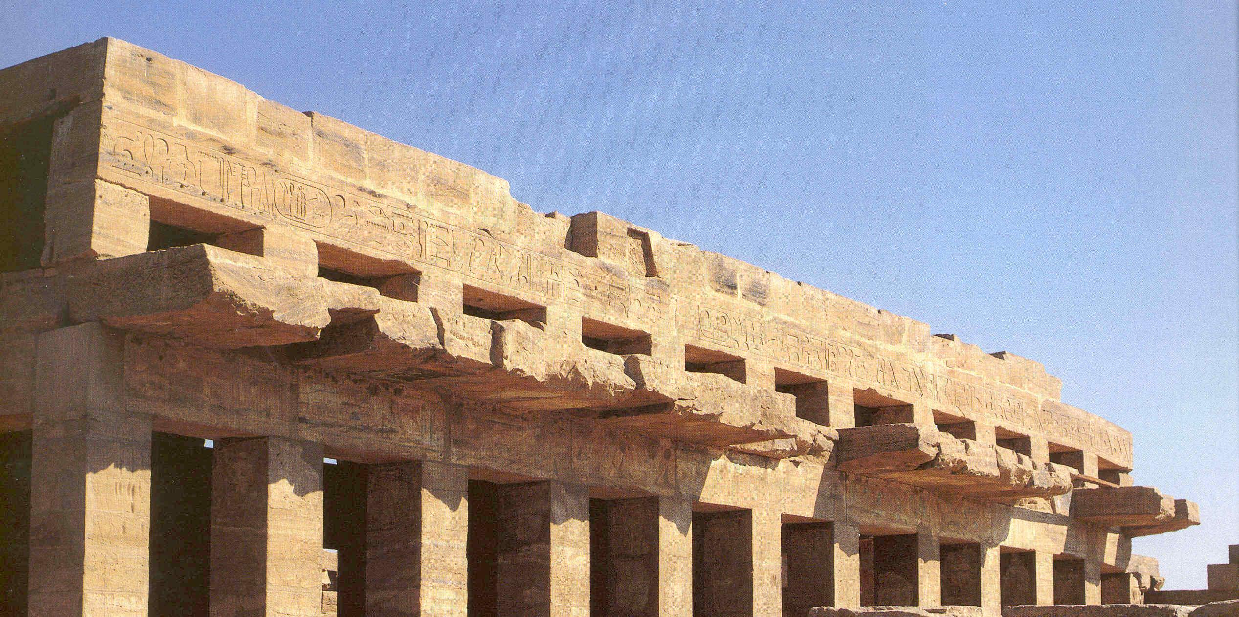 La construcción en el antiguo Egipto b