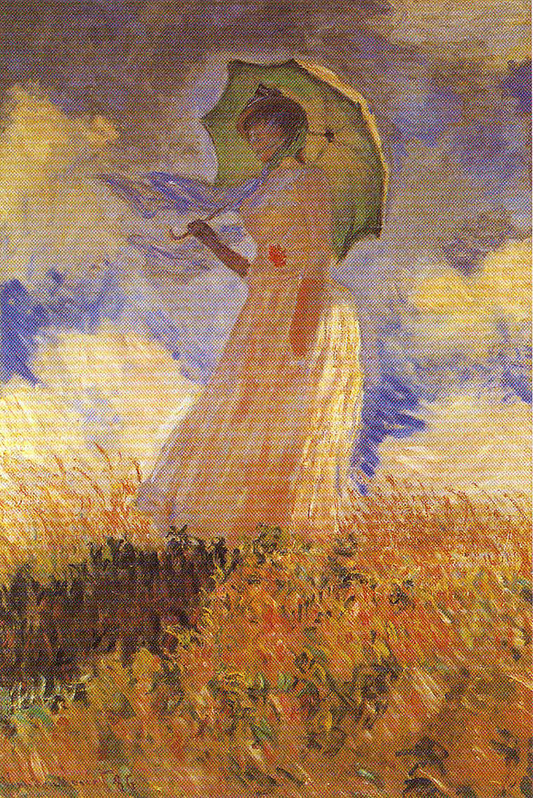 Claude Monet y familia recién llegados a Guiverny Pintura 181