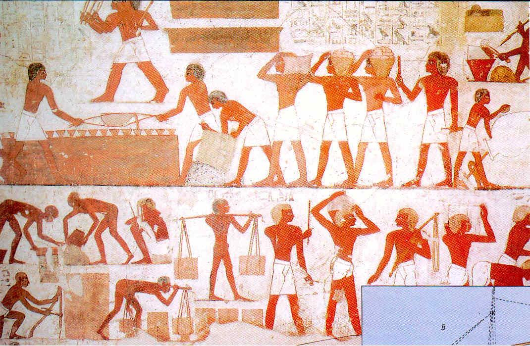 La vida en el antiguo Egipto Oficios