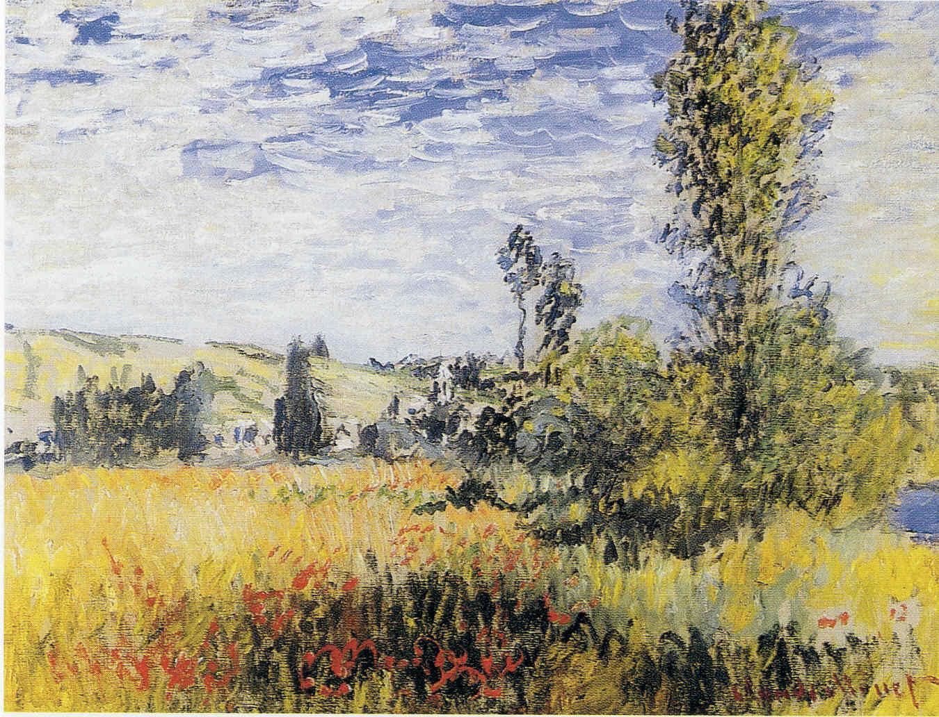 El final del túnel de Claude Monet 12 Pintura 177