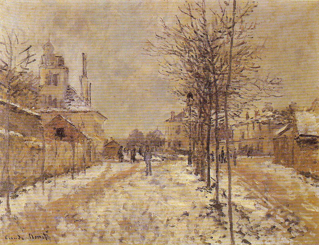 El período dorado de Argenteuil Claude Monet 8 Pintura 173
