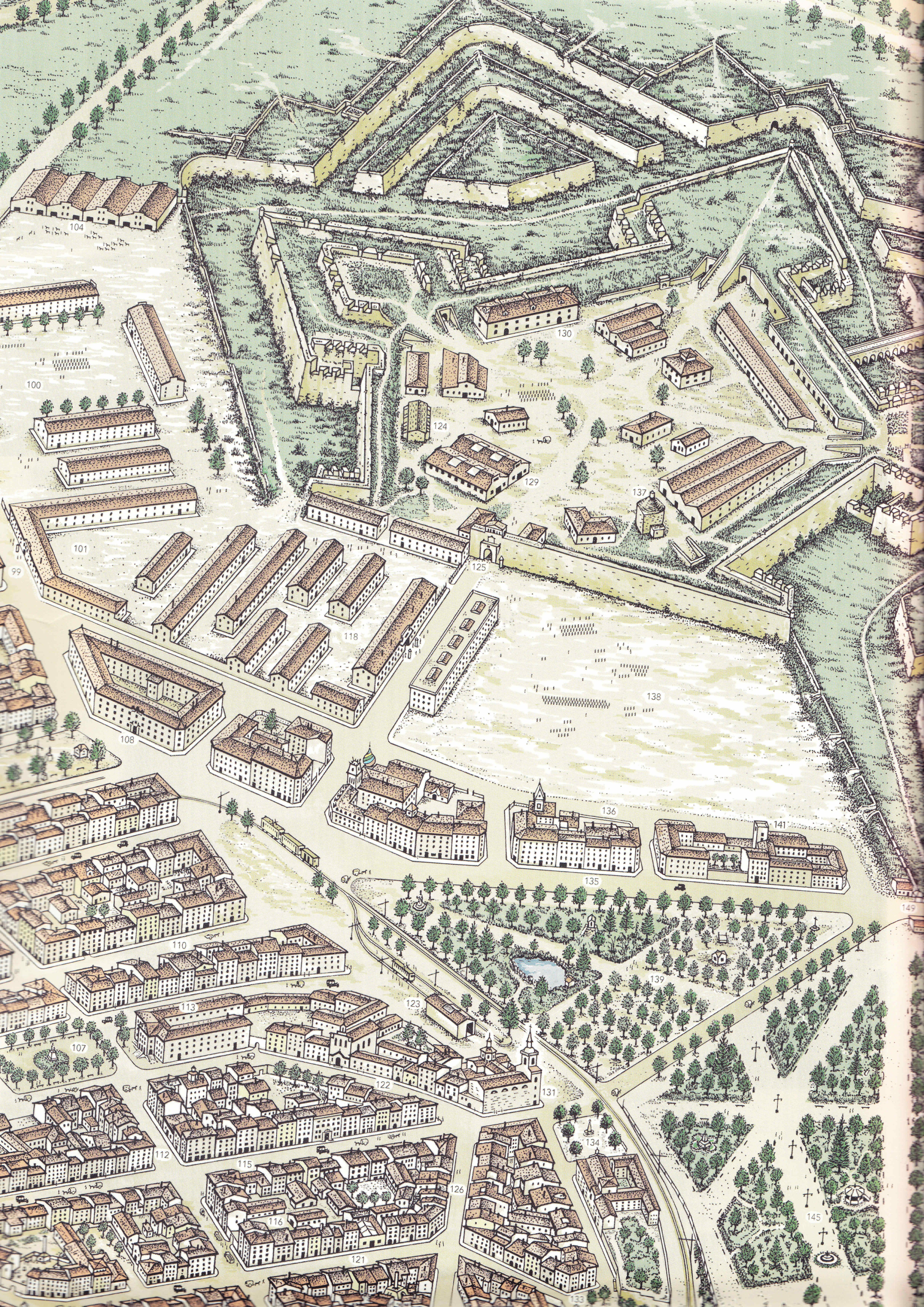 Pamplona 1900 Calle del General Chinchilla